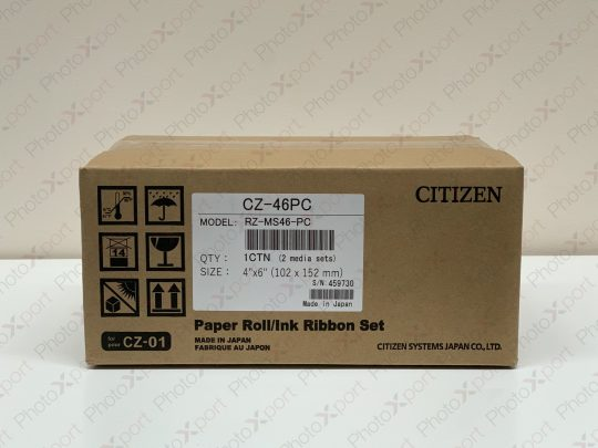 Citizen CZ-01 4x6 Media box front