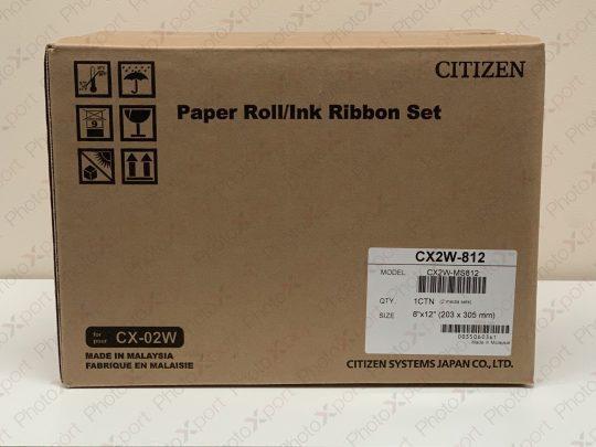 Citizen CX-02W media box front