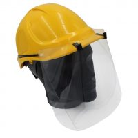 Construction safety visor